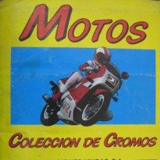 Coleccionismo Álbum: ESTUEPNDO ALBUM DE CROMOS COMPLETO MOTOS 1987. Lote 17072621