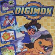 Coleccionismo Álbum: ALBUM DE CROMOS COMPLETO DIGIMON. Lote 17200651