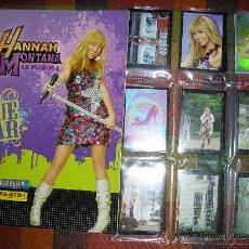 Coleccionismo Álbum: HANNA MONTANA LA PELICULA COMPLETA ALBUM MAS CROMOS SUELTOS. Lote 17458050