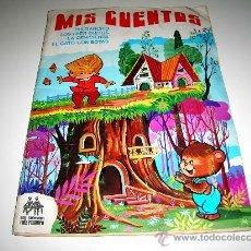 Coleccionismo Álbum: ALBUM MIS CUENTOS, ED RUIZ ROMERO, COMPLETO, RARO 4 CUENTOS, ORIGINAL 1972. PULGARCITO, CENICIENTA... Lote 27041163