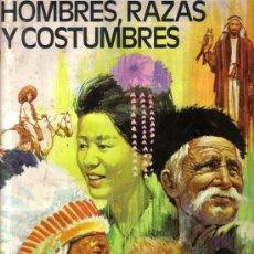 Coleccionismo Álbum: HOMBRES RAZAS Y COSTUMBRES COMPLETO BASTANTE BIEN 295 CROMOS. Lote 17909829