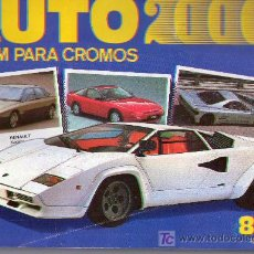 Coleccionismo Álbum: 253- AUTO 2000- COMPLETO 165 CROMOS. Lote 26661238