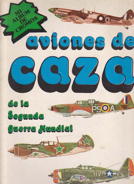 AVIONES DE CAZA - ALBUM NUEVA SITUACION - COMPLETO (Coleccionismo - Cromos y Álbumes - Álbumes Completos)