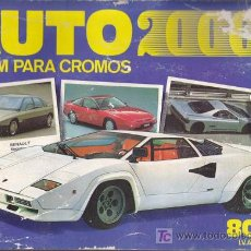 Coleccionismo Álbum: AUTO 2000 - ALBUM COMIC ROMO - COMPLETO. Lote 18031342