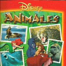 Coleccionismo Álbum: ALBUM DE CROMOS TOTALMENTE COMPLETO ANIMALES DISNEY // TOTALMENTE NUEVO //. Lote 23833578