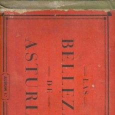 Coleccionismo Álbum: (AL-997)ALBUM CROMOS LAS BELLEZAS DE ASTURIAS Nº1 (COMPLETO) AÑO 1933. Lote 18172872