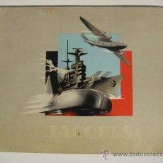 Coleccionismo Álbum: ÁLBUM AUTOS AVIONS ET MARINE DE GUERRE. CHOCOLATE JACQUES BÉLGICA 1939 COMPLETO 360 CROMOS DE GUERRA. Lote 27063179