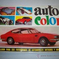 Coleccionismo Álbum: ÁLBUM AUTOCOLOR – COMPLETO. Lote 25219006