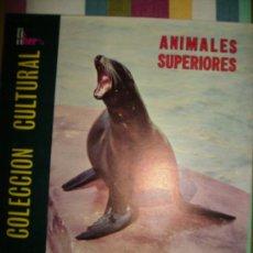 Coleccionismo Álbum: ÁLBUM COMPLETO. 'ANIMALES SUPERIORES'. FHER. 1971.. Lote 27114514