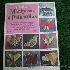 Coleccionismo Álbum: UN LIBRO DE ORO DE ESTAMPAS - Nº54 MARIPOSAS Y PALOMILLAS. Lote 18680399