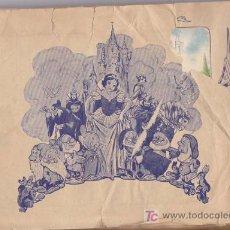 Coleccionismo Álbum: BLANCANIEVES Y LOS 7 ENANITOS - ALBUM EDITORIAL FHER - COMPLETO. Lote 18716517