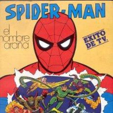 Coleccionismo Álbum: ÁLBUM SPIDER-MAN - COMPLETO - EDITORIAL FHER - SPIDERMAN - AÑO 1981.. Lote 18959168