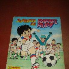 Coleccionismo Álbum: SUPERGOL DE RAFAEL RUDY PANINI 1988 COMPLETO.. Lote 19020769
