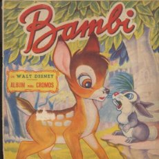 Coleccionismo Álbum: BAMBI. FHER 1950 COMPLETO.. Lote 19349840