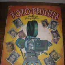 Coleccionismo Álbum: FOTO PELICULA. Lote 27101760