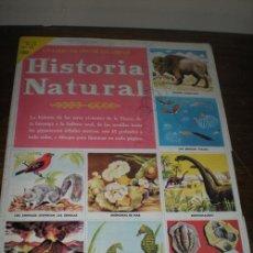 Coleccionismo Álbum: HISTORIA NATURAL. Lote 25839450