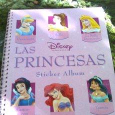 Sammeln Sammelalbum - Album De Cromos Las Princesas Disney (Panini,2004)- 240 cromos + pegatinas- Completo y como nuevo - 19974688