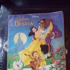 Coleccionismo Álbum: ALBUN DE LA BELLA Y LA BESTIA DE PANINI COMPLETO.. Lote 22687505