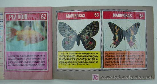 Coleccionismo Álbum: EL FABULOSO ALBUM DEL MUNDO DE LOS ANIMALES. TODOS LOS ANIMALES DOMESTICOS Y SALVAJES.13,5 X 19,5 CM - Foto 7 - 20364167