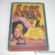 Coleccionismo Álbum: LOS TRES MOSQUETEROS ALBUM BRUGUERA COMPLETO. Lote 22089858