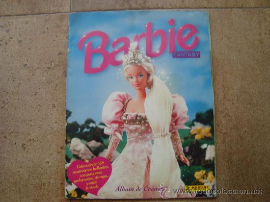 ALBUM COMPLETO BARBIE FANTASY AÑOS 90 (Coleccionismo - Cromos y Álbumes - Álbumes Completos)
