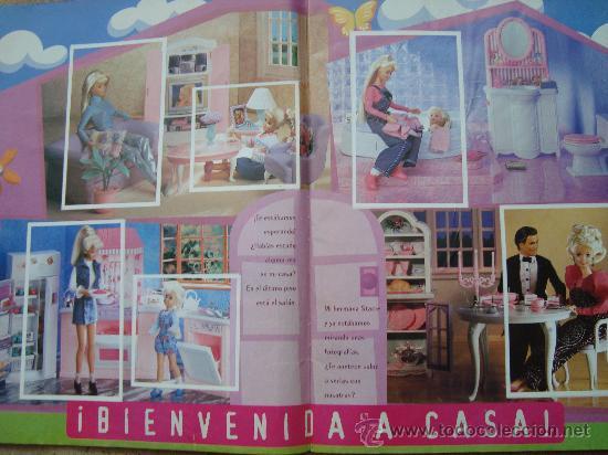 Coleccionismo Álbum: ALBUM COMPLETO BARBIE FANTASY AÑOS 90 - Foto 3 - 26806585