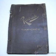 Coleccionismo Álbum: ÁLBUM CON MAS DE 70 PRECIOSAS ETIQUETAS AÑOS 10-20 DE CHOCOLATES DE LA FÁBRICA THEODOR REICHARDT. Lote 26621013