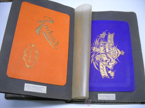 Coleccionismo Álbum: ÁLBUM CON MAS DE 70 PRECIOSAS ETIQUETAS AÑOS 10-20 DE CHOCOLATES DE LA FÁBRICA THEODOR REICHARDT - Foto 4 - 26621013