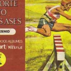 Coleccionismo Álbum: ALBUM DE CROMOS - EL DEPORTE VISTO POR SUS ASES - ATLETISMO (COMPLETO). Lote 21471234