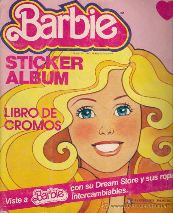 ALBUM DE CROMOS - BARBIE. STICKER ALBUM (COMPLETO) (Coleccionismo - Cromos y Álbumes - Álbumes Completos)
