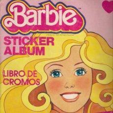 Coleccionismo Álbum: ALBUM DE CROMOS - BARBIE. STICKER ALBUM (COMPLETO). Lote 21502551