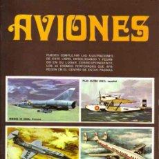 ALBUM DE CROMOS - AVIONES (Completo)