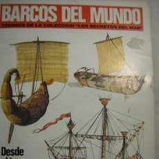 Coleccionismo Álbum: ALBUM CROMOS BARCOS DEL MUNDO COMPLETO. Lote 27233965