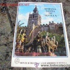 Coleccionismo Álbum: ANTIGUO ALBUM SEMANA SANTA EN SEVILLA - COMPLETO - . Lote 26572858