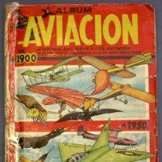 Coleccionismo Álbum: ALBUM AVIACIÓN. DE 1900 A 1950. COLECCION COMPLETA. EDICIONES CLIPER.. Lote 23732278