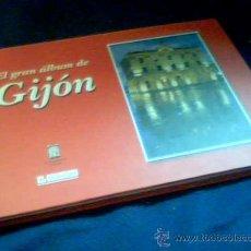Coleccionismo Álbum: EL GRAN ALBUM DE GIJON. COLECCIONABLE DEL DIARIO EL COMERCIO, COMPLETO. 2002. TAPA DURA.. Lote 46708465