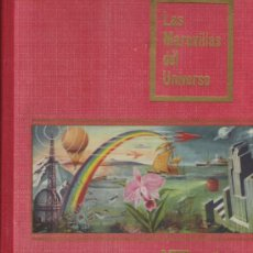 Coleccionismo Álbum: ALBUM COMPLETO DE LAS MARAVILLAS DEL UNIVERSO PRIMER ALBUM DE 1955 NUMERADO DE NESTLE . Lote 23810767