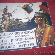 Coleccionismo Álbum: BATALLAS HISTORICAS. Lote 171608153