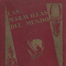 Coleccionismo Álbum: LAS MARAVILLAS DEL MUNDO COMPLETO 480 CROMOS DE NESTLE. Lote 23182820