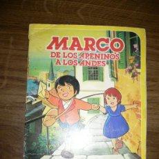 Coleccionismo Álbum: MARCO DE LOS APENINOS A LOS ANDES DANONE 1976. Lote 27159798