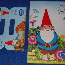 Coleccionismo Álbum: DAVID EL GNOMO - DANONE ¡COMPLETO!. Lote 23750479