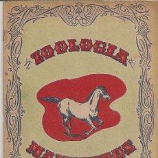 Coleccionismo Álbum: ZOOLOGIA .- MAMIFEROS .- EDITORIAL BRUGUERA.- AÑO 1950.- ALBUM COMPLETO DE 96 CROMOS.. Lote 24112539