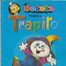 Coleccionismo Álbum: PETETE Y TRAPITO.- REVISTA PETETE.- AÑO 1984.- ALBUM COMPLETO DE 96 CROMOS.-. Lote 24173515