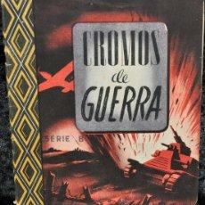 Coleccionismo Álbum: ÁLBUM DE CROMOS DE GUERRA. EDICIONES VICTOR. AÑO 1946.. Lote 25633282