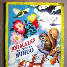 Coleccionismo Álbum: ALBUM 300 COLORIDOS CROMOS COMPLETO ANIMALES DE TODO EL MUNDO FHER AÑOS 60 'S. Lote 27235284