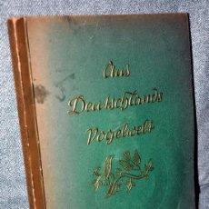 Coleccionismo Álbum: ALBUM ALEMAN COMPLETO SOBRE LAS AVES: AUS DEUTSCHLANDS VOGELWELT - AÑO 1936. Lote 26249780