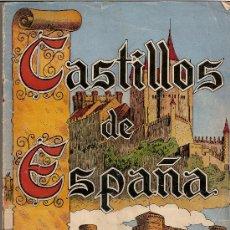Coleccionismo Álbum: CASTILLOS DE ESPAÑA.- CASULLERAS.- AÑO 1957.- ALBUM COMPLETO DE 144 CROMOS.. Lote 24405860