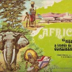 Coleccionismo Álbum: AFRICA EL MUNDO A TRAVES DE SUS CONTINENTES.- LECHE RAM.- ALBUM COMPLETO DE 117 CROMOS.. Lote 24437565