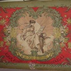 Coleccionismo Álbum: ÁLBUM BIOGRÁFICO DE LAS CAJAS DE CERILLAS PARA COLECCIONARLAS SERIE 27 . Lote 24660827