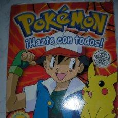 Coleccionismo Álbum: ALBUM COMPLETO DE POKEMON. Lote 24722691
